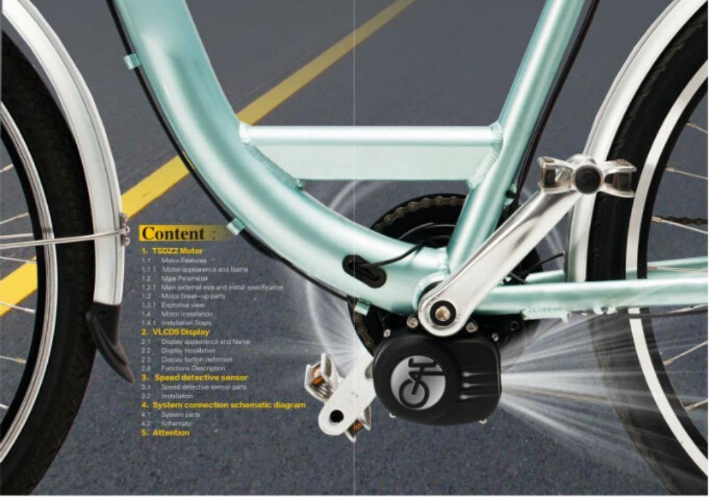 Verlängerungskabel Für Geschwindigkeitssensor Fahrrad Für Tongsheng-Zentralmotor