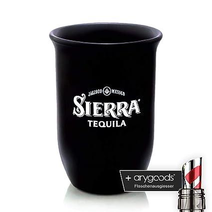 Sierra Tequila Cristal/vasos Cocktail Cristal Tono negro ...