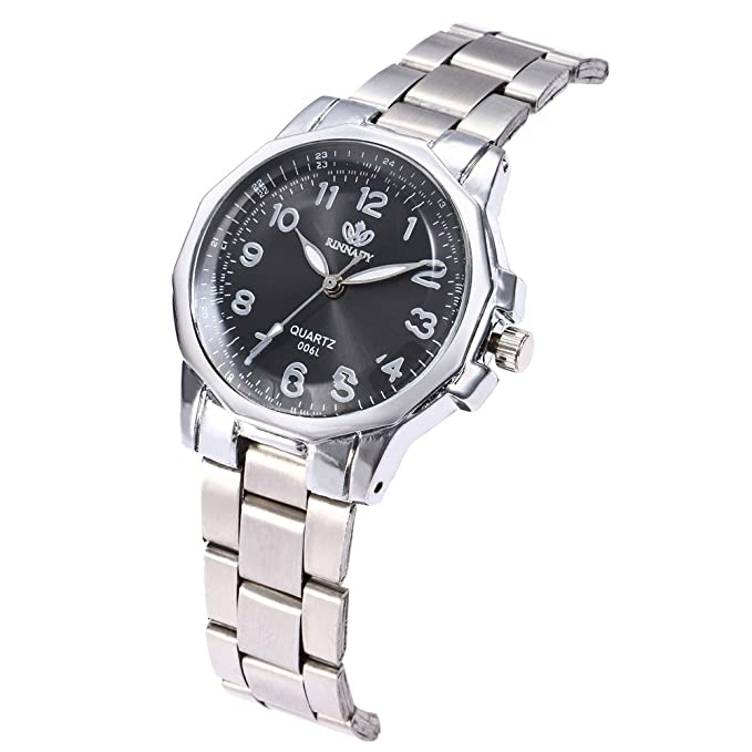 ... Watches with Stainless Steel Band Stainless Steel Cases Under 10 on Clearance on Sale Business Analog Quartz Watchs Relojes De Mujer En Oferta: Watches
