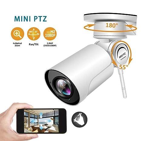 4X Zoom con Sonido Cámara Web HD 1080P Cámara IP de ...