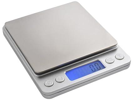 Oramics – Báscula industrial 2 kg Oro – Báscula digital de precisión # 3465