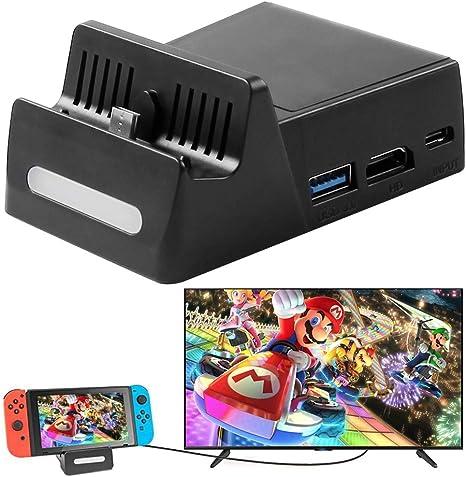 Base de Carga para Nintendo Switch con Interfaz de Salida de Datos ...