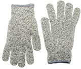#9: NoCry Cut Resistant Gloves - High Performance Level 5 Protection, Food Grade. Free Ebook Included!