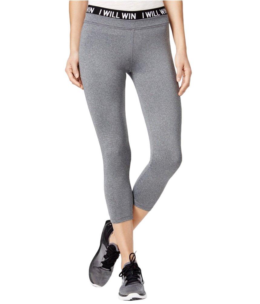 energie Womens Poppy Cropped Casual Leggings heathergrey XS/22