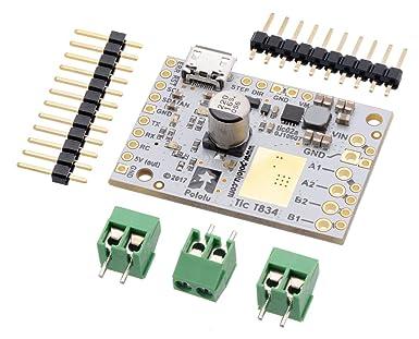Amazon com: Pololu Tic T834 USB Multi-Interface Stepper Motor