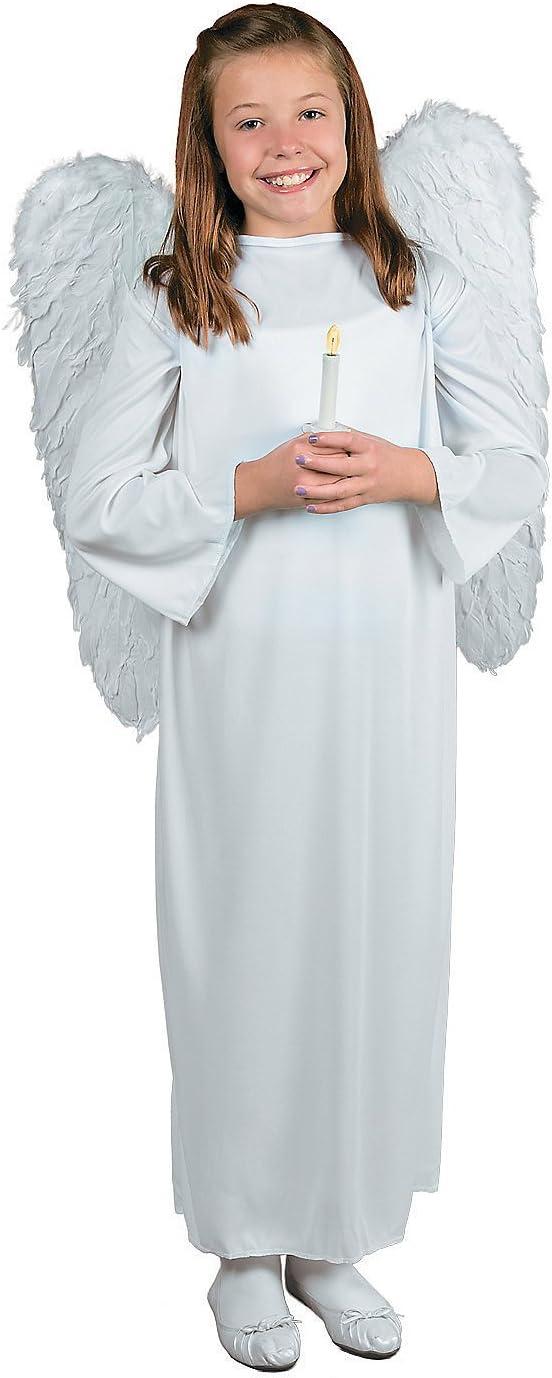 Amazon.com: Fun Express Disfraz de ángel para niños con alas ...