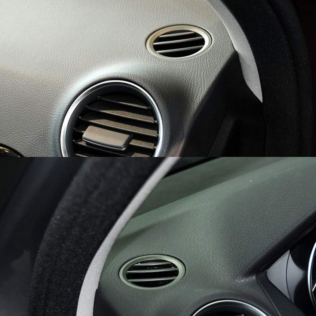 Flushzing Peque/ñas y Redondas Aire Acondicionado Salida de la Rejilla del reemplazo para Mercedes-Benz Clase C W204 C200 C260