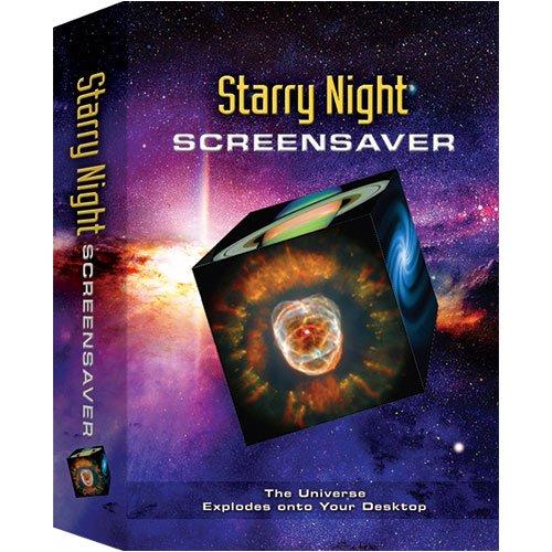 amazon com starry night astronomy screensaver win mac