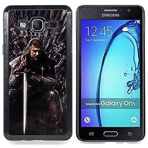 Funda/carcasa Stuss - Tronos serie - carcasa Samsung Galaxy On5 O5