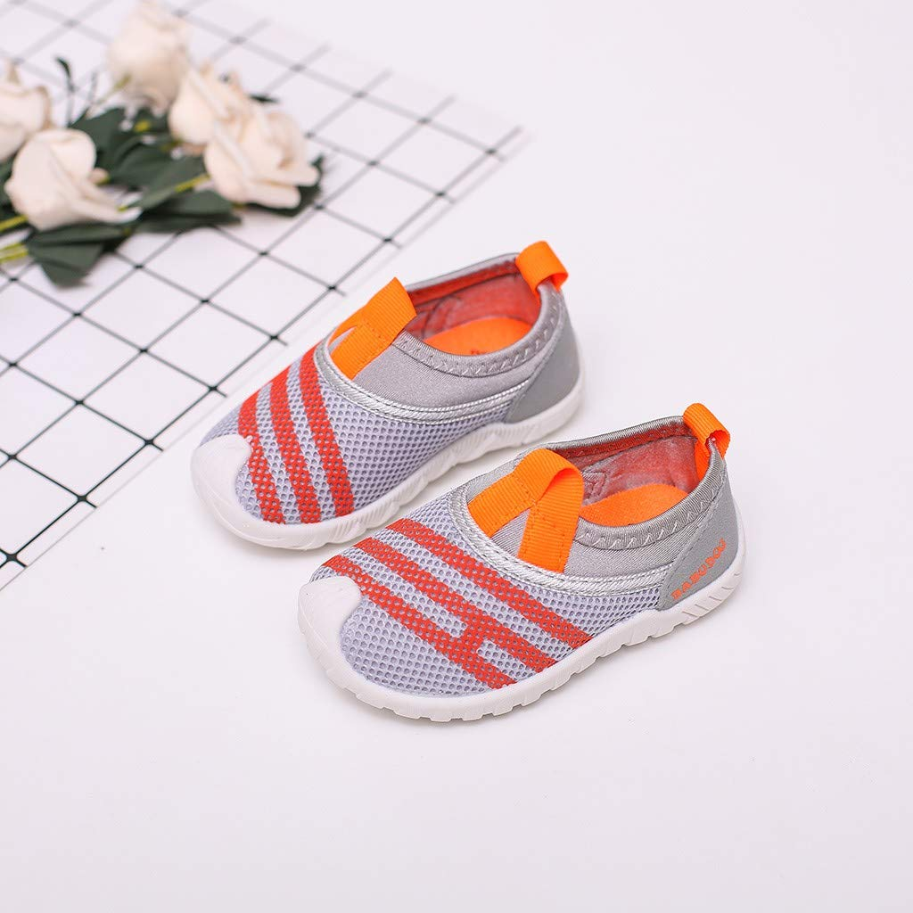 Suma-ma Kids Babys Casual Breathable Sports Shoes Toddler Boys Girls Mesh Sneakers Casual Printed Running Shoes