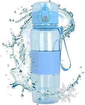 MaYee Botella de Agua Deportiva Sin BPA | Botella Agua Deporte ...