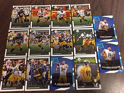 2017 Donruss NFL Team Set With RC Pittsburgh Steelers JUJU SMITH-SCHUSTER WATTS