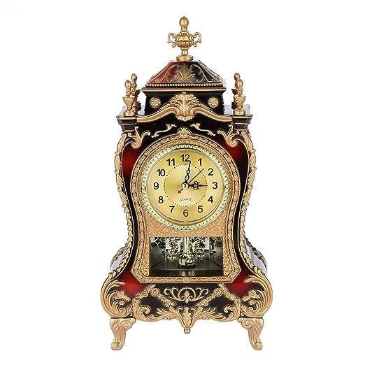 Nannday Reloj de Mesa Vintage, Despertador de Escritorio ...