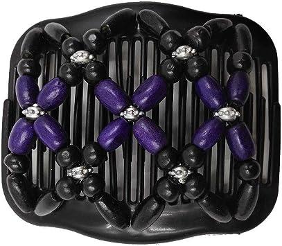 LC/_ Femme Fille Strass Fleur Barrette Porte-Queue de Cheval Accessoires Cheveux