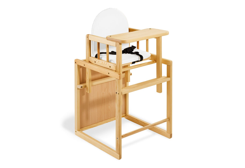 Pinolino - 151303 - Kombihochstuhl Nele - leicht umbaubar zur Stuhl-Tisch-Kombination - Maße 44 x 50 x 88 cm Children' s Furniture Desks & Chairs Sets Kindermöbel: Sitzmöbel Kombi-Hochstuhl