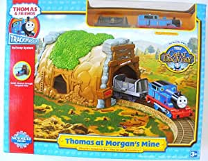thomas & friends trackmaster glowing mine set instructions