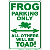 Signs 4 Fun SPSSD Drowning LOL Small Parking Sign
