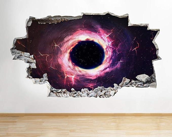Agujero negro Nebulosa del espacio Eclipse Tatuajes de pared ...