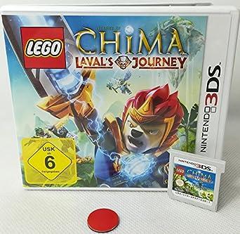 Lego Legends Of Chima Lavals Journey Nintendo Ds 3ds