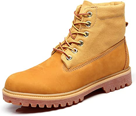 HUyouyi Hombre Zapatos Hombre Botas Hombre Invierno Botas