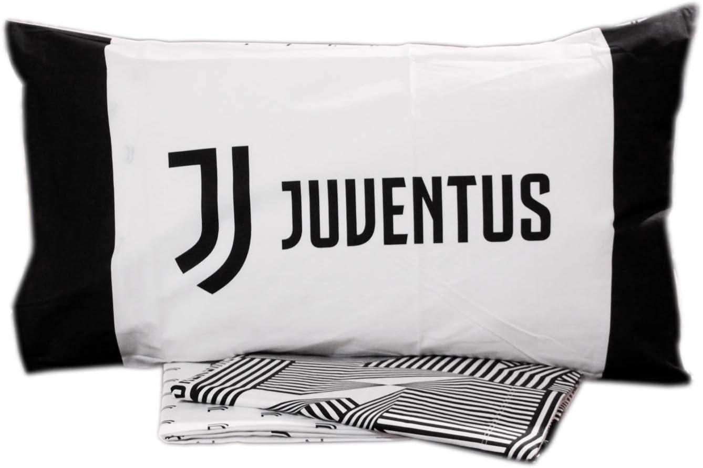 Lenzuola Matrimoniali Juventus.Completo Lenzuola Letto 2 Due Piazze Matrimoniale Ufficiale