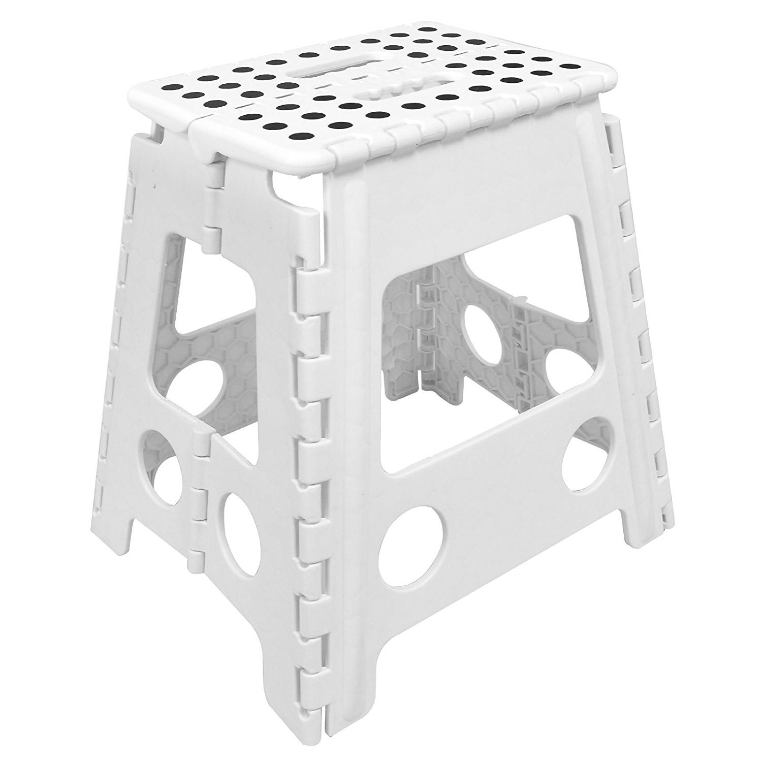 Awe Inspiring Asab Large Folding Foot Step Stool Multi Purpose Plastic Foldable Easy Storage Home Kitchen White Pabps2019 Chair Design Images Pabps2019Com