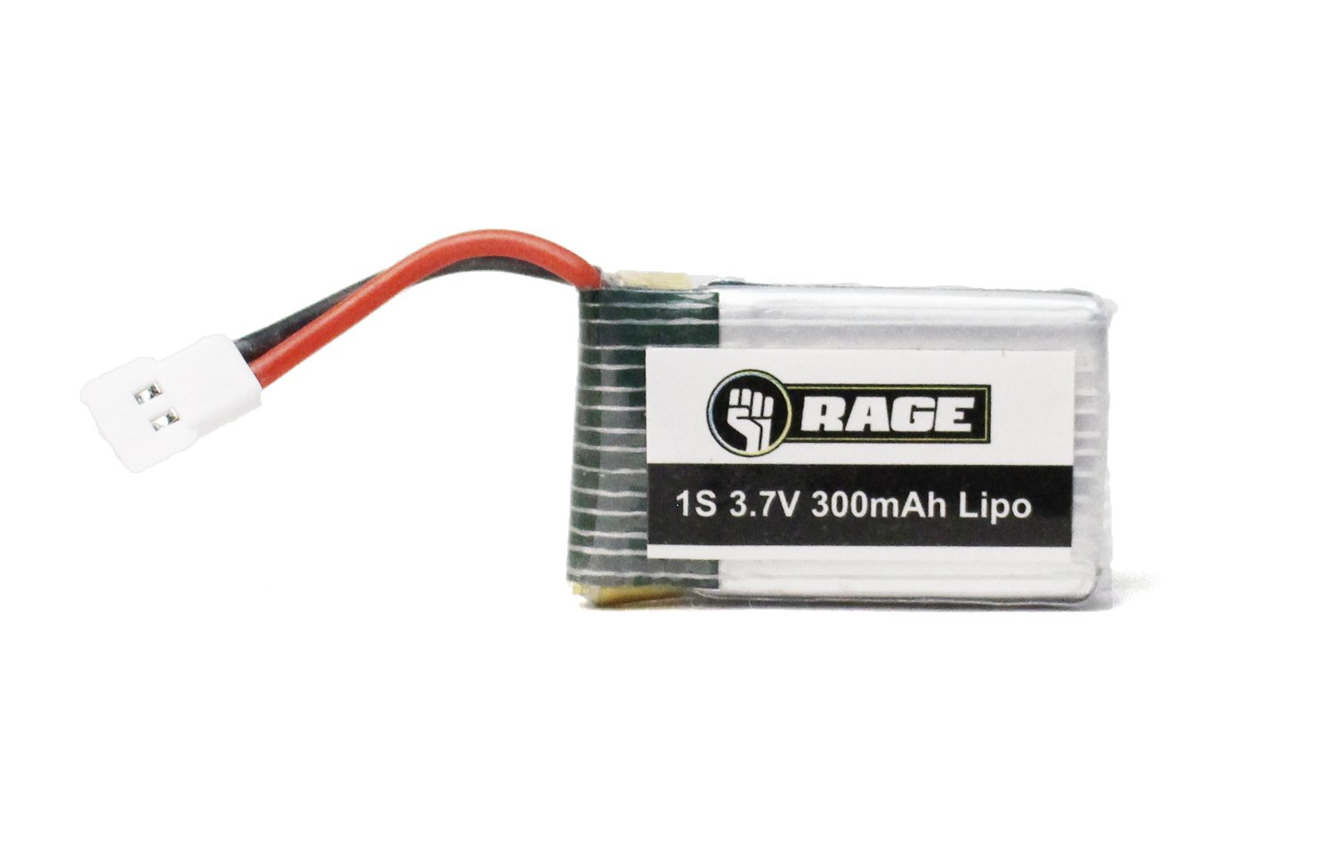 Rage RC 3060 1S 3.7V 300mAh LiPo Battery Orbit FPV Replacement Parts