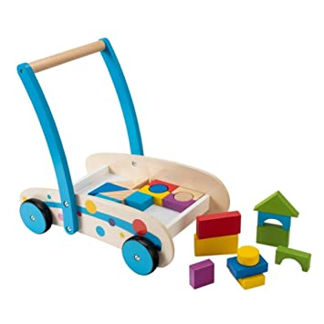 Smyths Squirrel Play Wooden Baby Steps Walker Amazon Co Uk