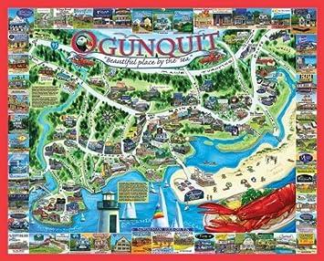 White Mountain Puzzles Ogunquit Maine 1000 Piece Jigsaw Puzzle