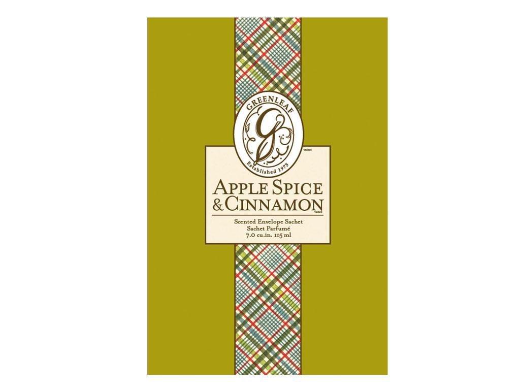 Scented Envelope Sachet - Apple Spice and Cinnamon Greenleaf GL900402