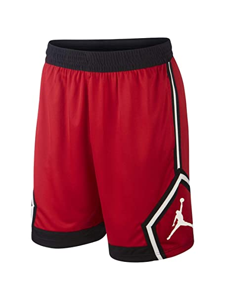 Nike Jumpman - Pantalón Corto de Baloncesto Hombre - Rojo - Talla ...