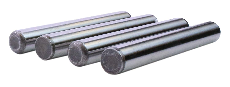 4 Pack 1//2 x 3 inch Dowel Pin Alloy Steel Thru Hardened U-Turn