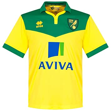 Norwich City Home Jersey 2014 / 2015 - S