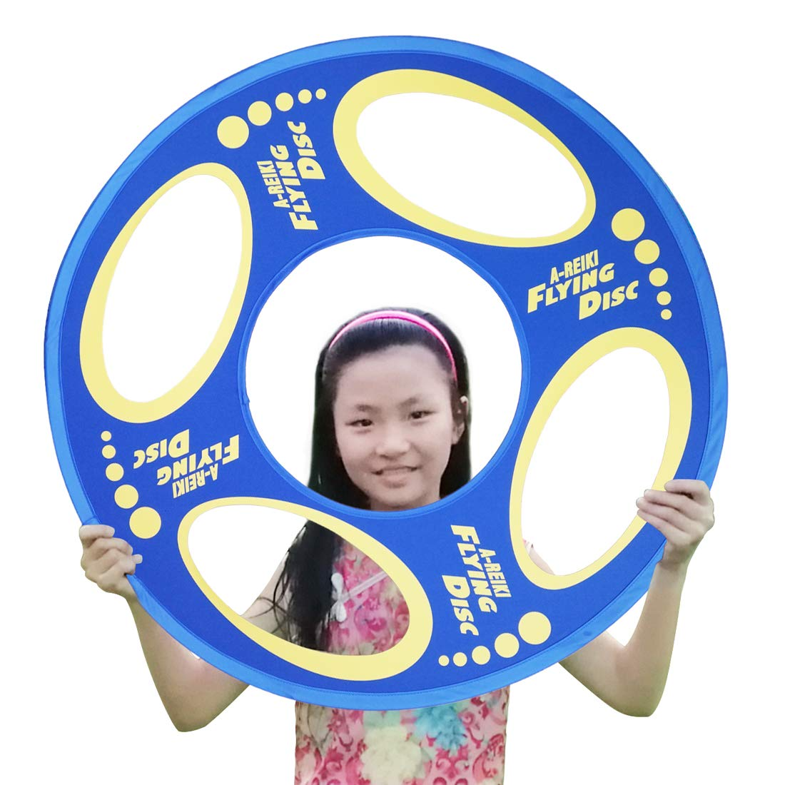 A-REIKI Frisbee for Adult Kids Flying Disc Outdoor Play