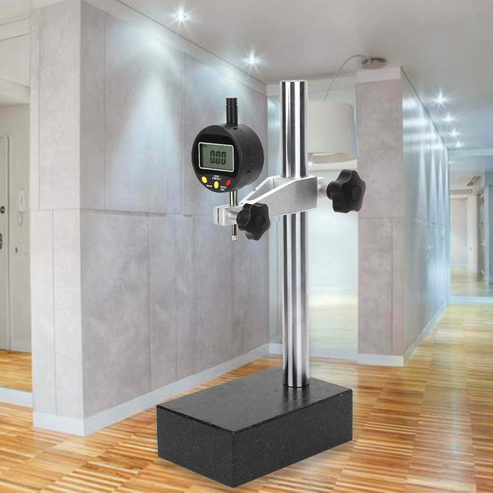 Digital Height Gauge Depth Gauge,High Precision Digital Height Gauge Dial Indicator with 00 Grade Marble Base 0~10mm