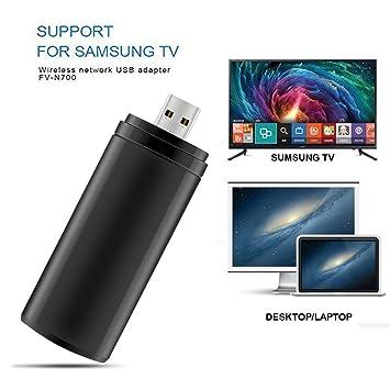 ZUKABMW - Adaptador WiFi USB Compatible con Samsung TV ...