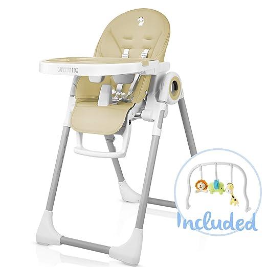 Baby Kinderwagen//Hochstuhl-Sitzkissen Polster 5-Punkt-Gurt Fashion Gray widerstandsf/ähig und Gurte f/ür Hochstuhl 1 Anzug