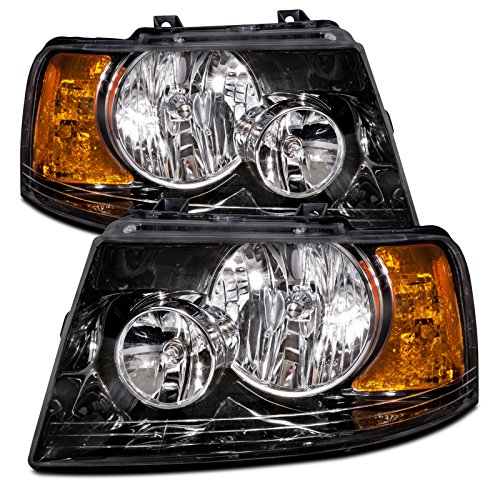ford-expedition-new-black-headlights-set-headlamps-pair