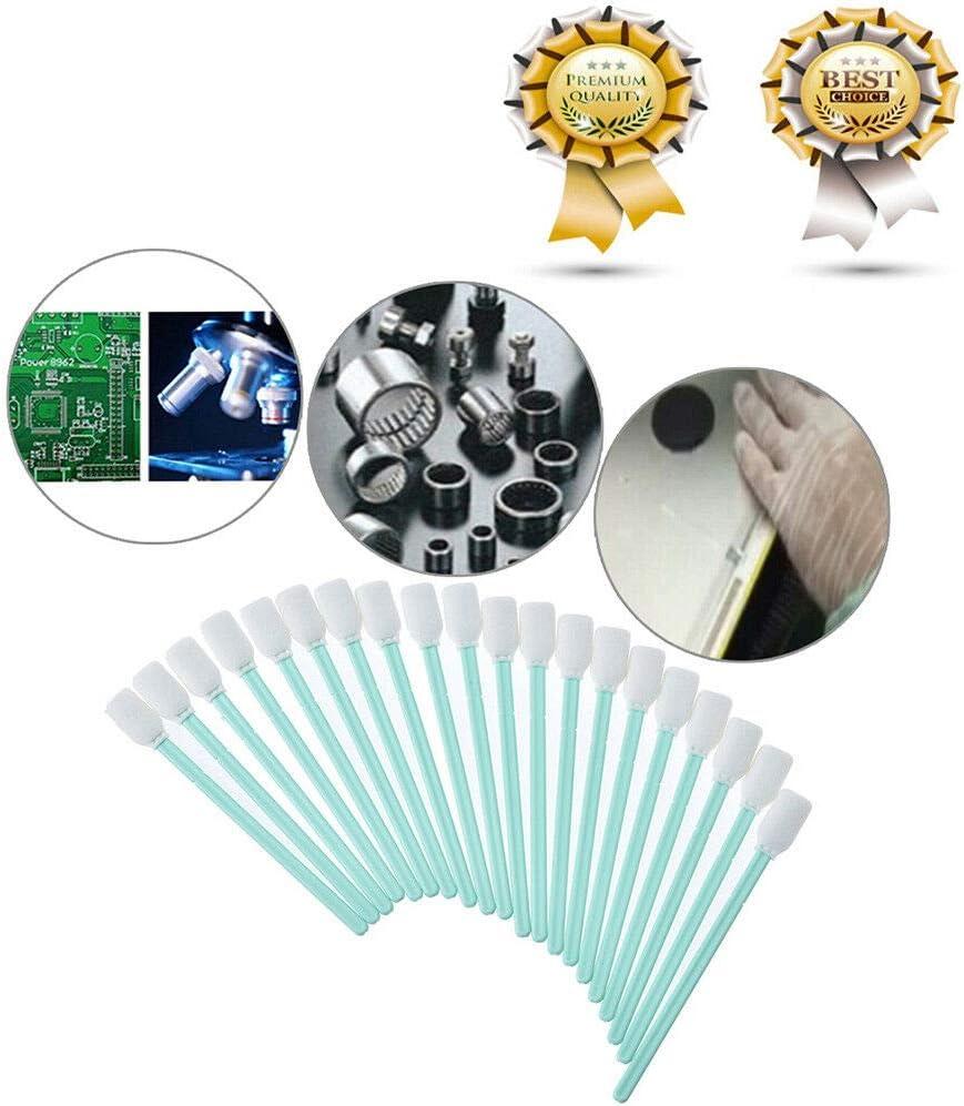 For shoppingchain - 100 toallitas limpiadoras de Espuma para impresoras de inyección de Tinta Epson/Roland/Mimaki/Mutoh: Amazon.es: Electrónica