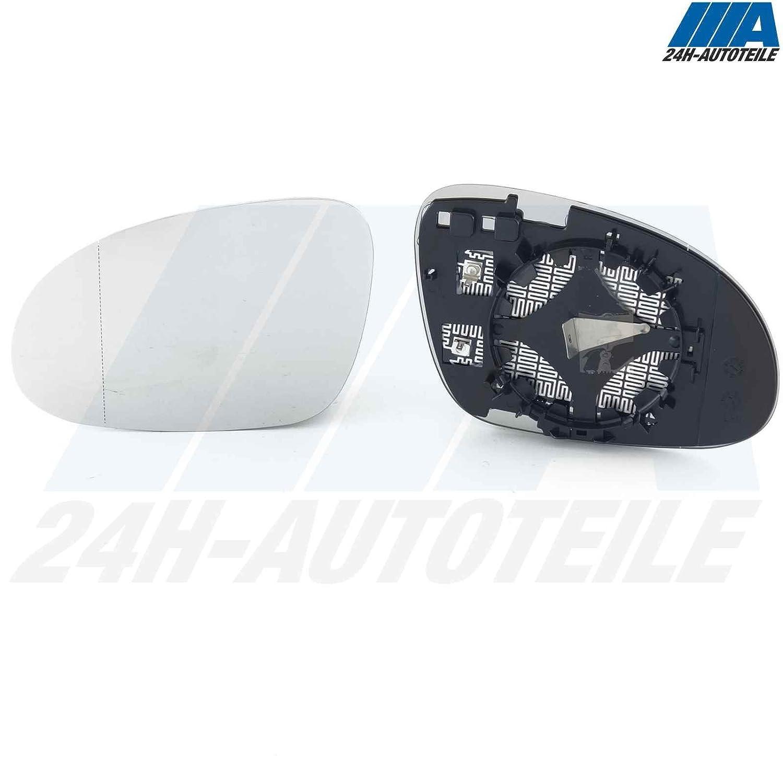 ATBreuer 81351 Spiegelglas links Fahrerseite beheizbar asph/ärisch