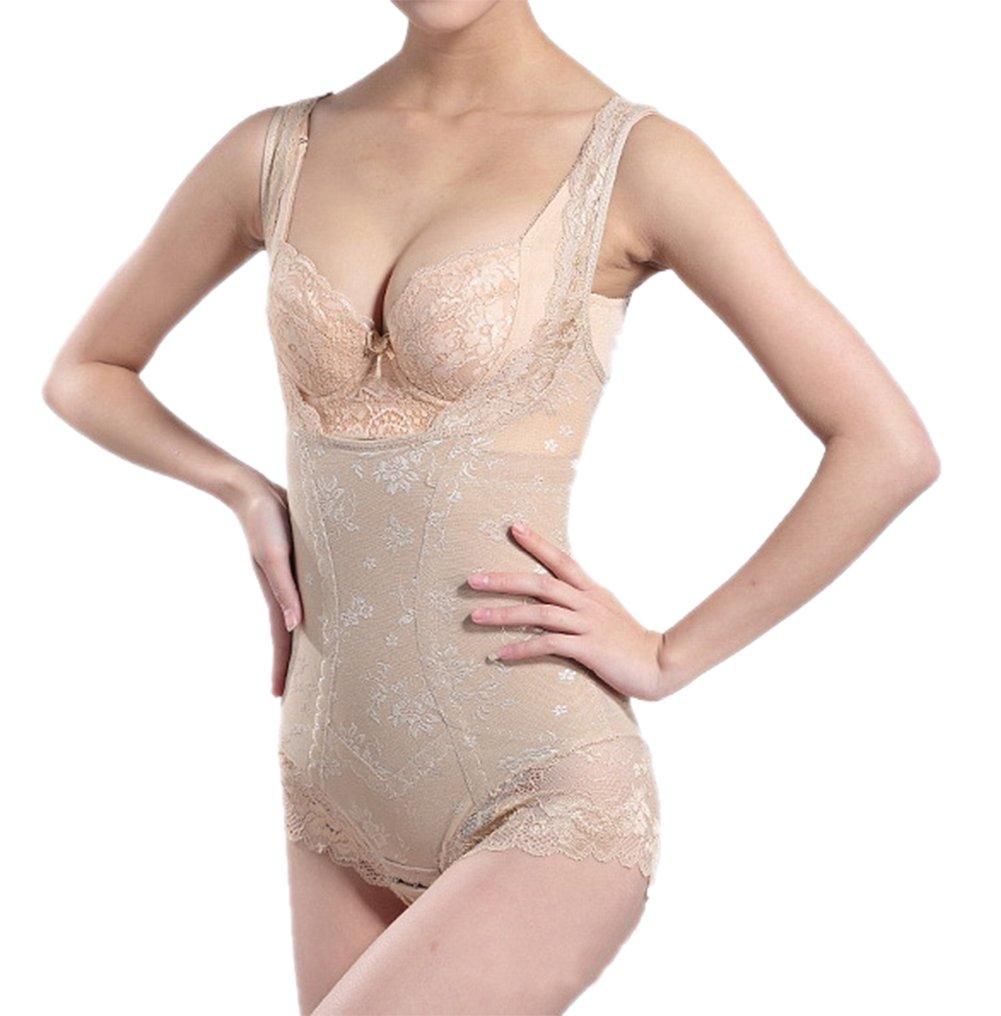 Shymay Women's Firm Control Shapewear Waist Shaper Tummy Slimmer Bodysuits