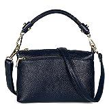 Womens Small Leather Top Handle Crossbody Purse Handbags Satchel Shoulder Bag