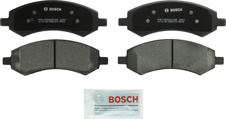 Bosch BP1084 QuietCast Premium Semi-Metallic Front Disc Brake Pad Set