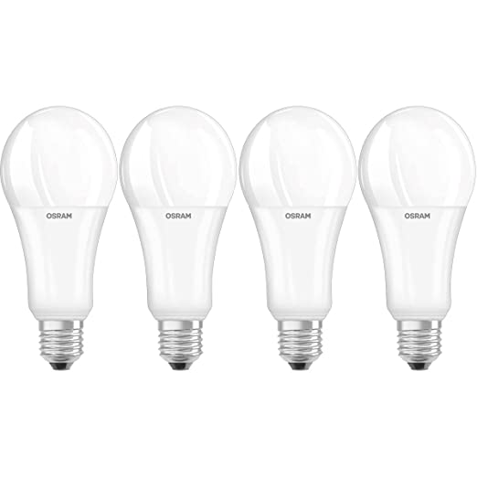 Osram Superstar Bombilla LED E27, 21 W, Blanco 4 unidades