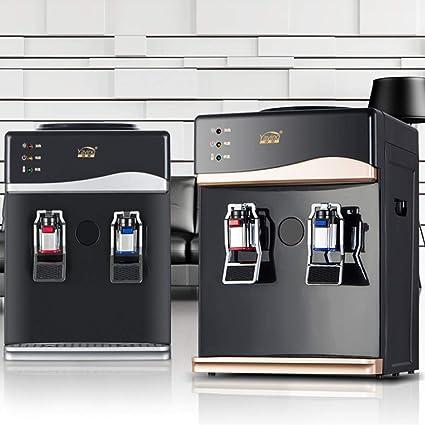 Bureze - Enfriador de Mesa de 220 V para el hogar, dispensador de Agua Caliente
