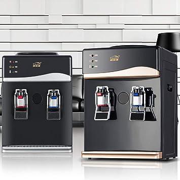 Bureze - Enfriador de Mesa de 220 V para el hogar, dispensador de Agua Caliente y fría: Amazon.es: Hogar