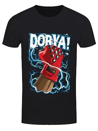 Grindstore Herren T-Shirt Dorya! Schwarz