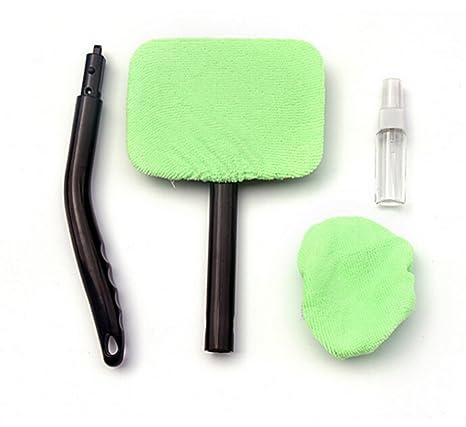 Parabrisas Clean Herramienta de limpieza de coche Cepillo Limpiaparabrisas mango desmontable limpiador de cristal botella de