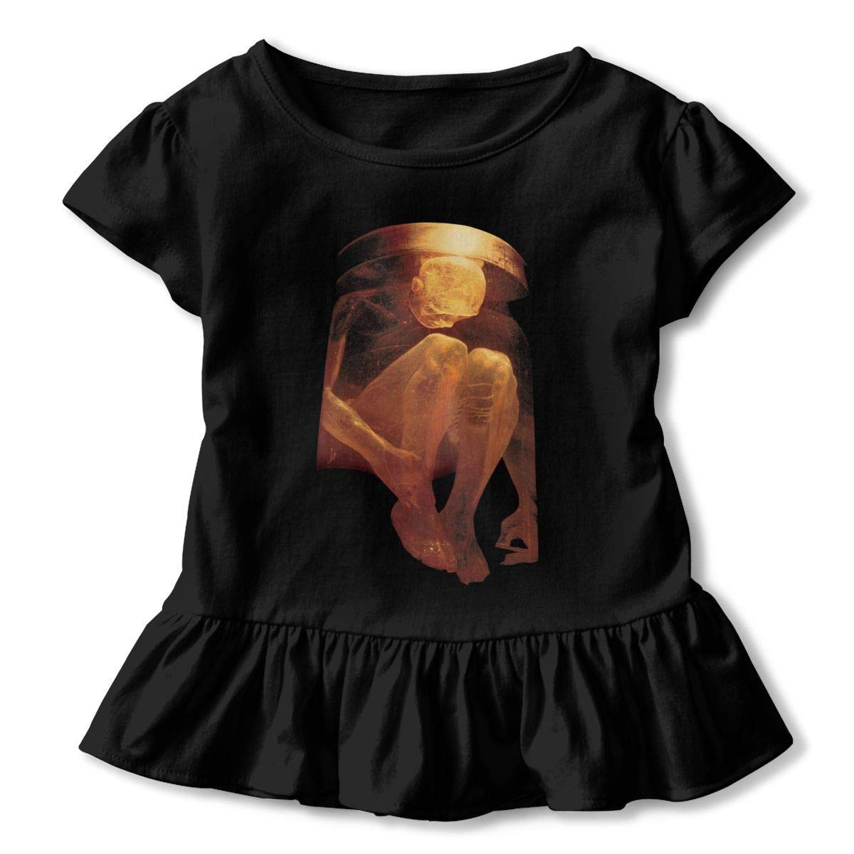 Kid T Shirt Alice in Chains 3D Tee Baseball Ruffle Short Sleeve Cotton Shirts Top for Girls Kids