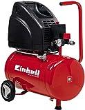 Einhell - TH-AC 200/24 OF - Compresor, 1100 W, 240 V, motor sin aceite, manómetro y acoplamiento rápido, llave de desagüe (ref. 4020515)